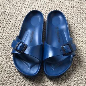 Birkenstock Madrid Essentials Women's Shoes Navy EVA